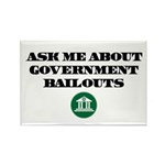 Bailout Jokes 2 Rectangle Magnet (100 pack)
