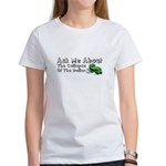 Ask Me Dollar Collapse 1 Women's T-Shirt