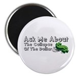 Ask Me Dollar Collapse 1 Magnet