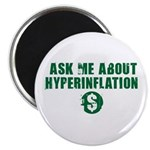 Ask Me Hyperinflation Magnet