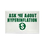 Ask Me Hyperinflation Rectangle Magnet (100 pack)