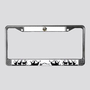 Self guided hunts License Plate Frame