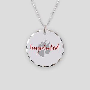 Imprinted Jacob Black Necklace Circle Charm