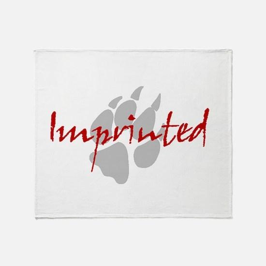 Imprinted Jacob Black Throw Blanket