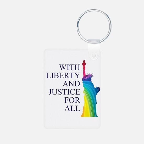 RAINBOW LIBERTY Keychains