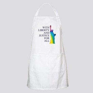 RAINBOW LIBERTY Apron