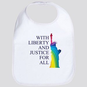 RAINBOW LIBERTY Bib
