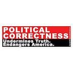 Political Correctness 2 (Bumper Sticker 10 pk)