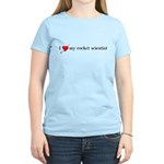 I [Heart] My Rocket Scientist Women's T-Shirt