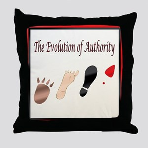 Authority Throw Pillow
