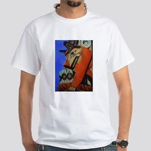 Wolf Totem White T-Shirt