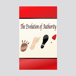 Authority Sticker (Rectangle)
