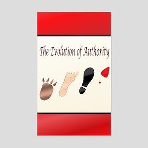 Authority Sticker (Rectangle)