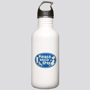 Please Neuter or Spay Stainless Water Bottle 1.0L