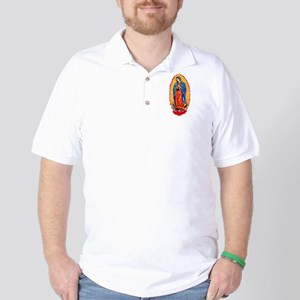 Virgin of Guadalupe Golf Shirt