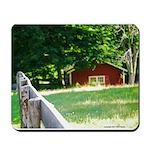 Fence & Barn Mousepad