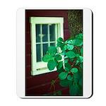 Barn Window & Vine Mousepad