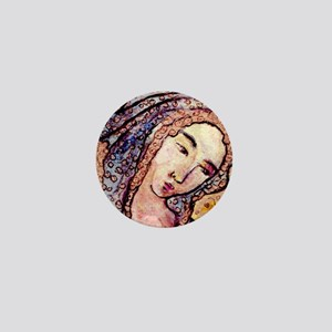 Blessed Virgin Mary Mini Button
