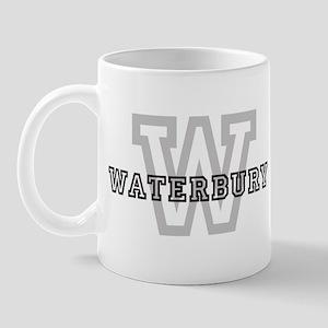 Letter W: Waterbury Mug