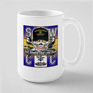 USN SWCC Skull & Bones Large Mug