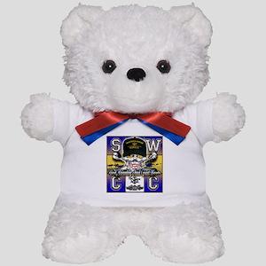 USN SWCC Skull & Bones Teddy Bear