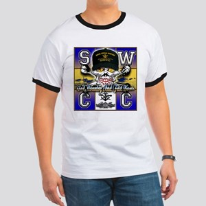 USN SWCC Skull & Bones Ringer T