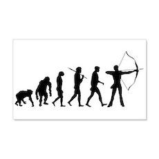 Evolution of Archery 22x14 Wall Peel
