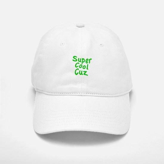 Super Cool Cuz Baseball Baseball Cap