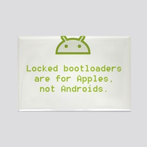 Android Unlocked Rectangle Magnet