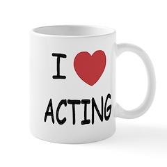 I heart acting Mug