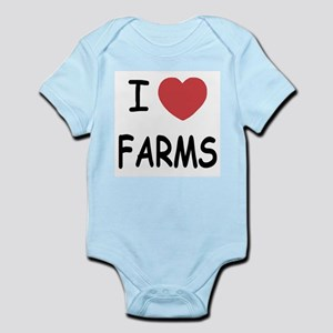 I heart farms Infant Bodysuit