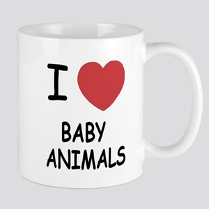 I heart baby animals Mug
