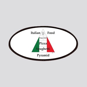 Italian Food Pyramid Patches