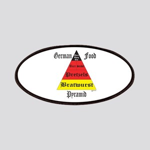 German Food Pyramid Patches