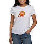 Girl With Flower Women's T-Shirt