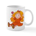 Girl With Flower Mug