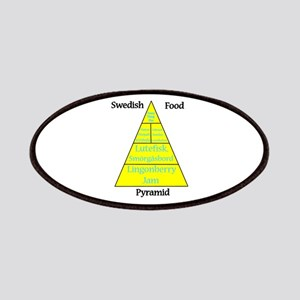 Swedish Food Pyramid Patches