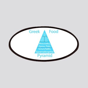 Greek Food Pyramid Patches