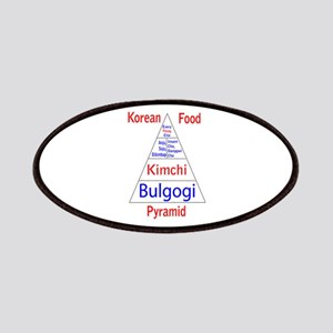 Korean Food Pyramid Patches