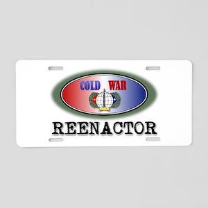 Cold War Reenactor Aluminum License Plate