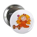 Girl With Flower Button