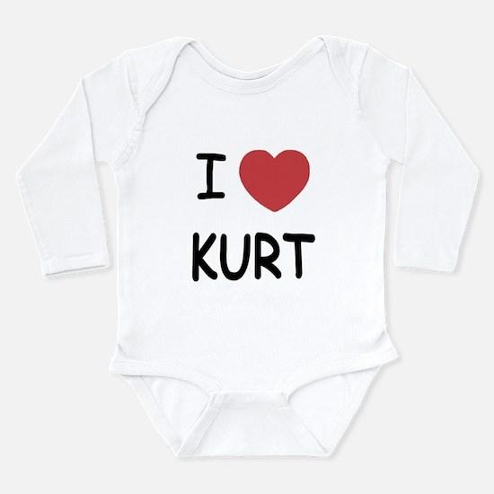 I heart kurt Long Sleeve Infant Bodysuit