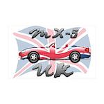 MX-5 UK MK II 38.5 x 24.5 Wall Peel