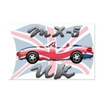 MX-5 UK MK II Mini Poster Print
