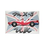 MX-5 UK MK II Rectangle Magnet (100 pack)