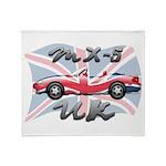 MX-5 UK MK II Throw Blanket