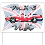 MX-5 UK MK II Yard Sign