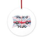 MX-5 UK MK II Ornament (Round)
