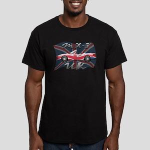 MX-5 UK MK II Men's Fitted T-Shirt (dark)
