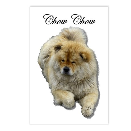Chow Chow Dog Postcards (Package of 8)